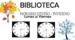 ORARIO DE OTOÑO-INVIERNO