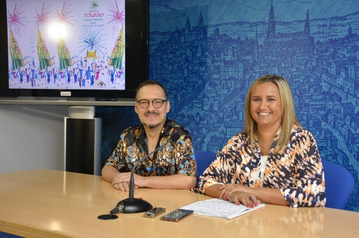 http://www.toledo.es/wp-content/uploads/2019/08/presentacion-desfile-jose-sanchez-1200x797.jpg. El diseñador José Sánchez homenajeará a la Feria en su desfile del 16 de agosto en el que no faltarán los botijos ni la tómbola