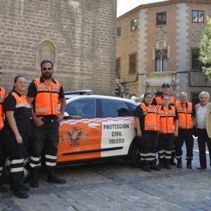 l Ayuntamiento refuerza el servicio de atención de la Agrupación Local de Protección Civil con la incorporación de un nuevo vehículo