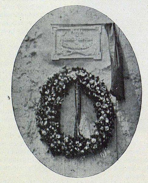 003_TRA-1924-207-La Roda, lápida en la plaza del Capitán Escribano
