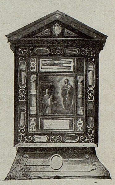 004_TRA-1921-175 - Relicario donde se conserva la Bula de creación de la Orden de Concepcionistas