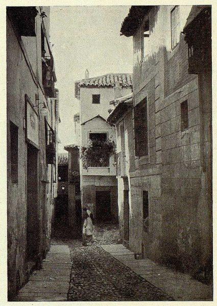 006_TRA-1927-249-Callejón de San Pedro-Foto Clavería