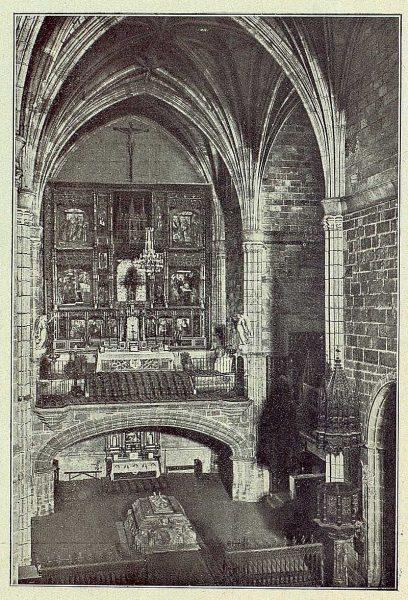 006_TRA-1930-285-286-Avila, interior de Santo Tomás-Foto Clavería