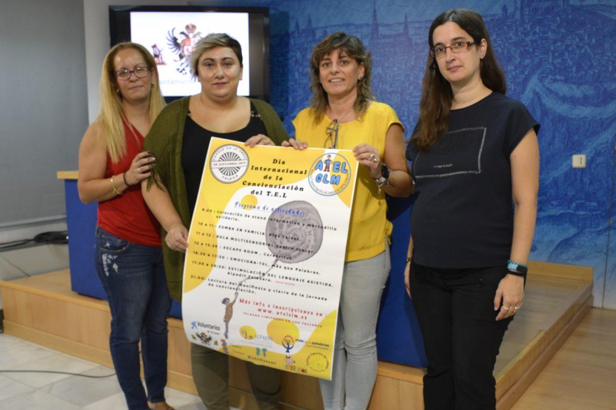 https://www.toledo.es/wp-content/uploads/2019/09/01-actividades-tel-1200x799.jpg. El Ayuntamiento invita a los toledanos a participar en la Jornada de Concienciación del Trastorno Específico del Lengua del día 28