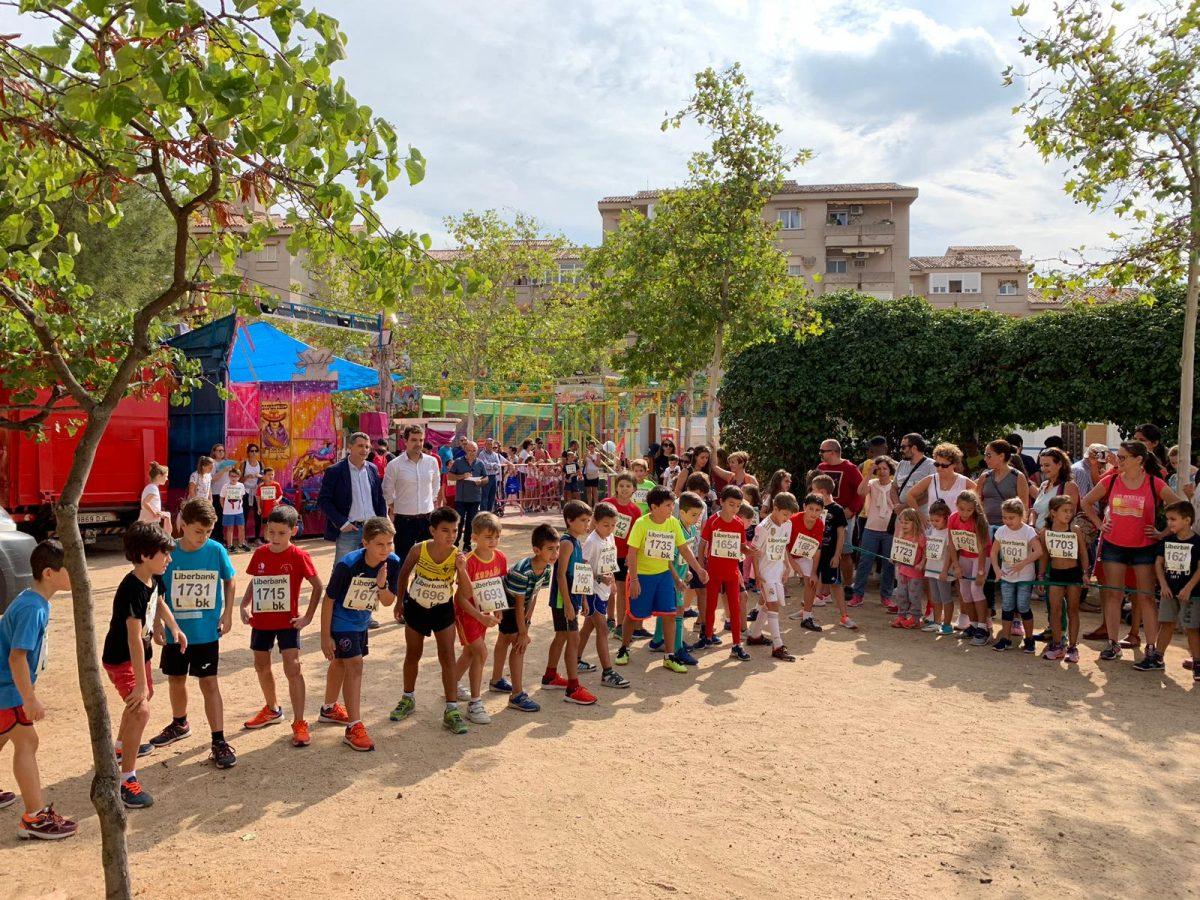 http://www.toledo.es/wp-content/uploads/2019/09/01-carrera-popular-buenavista-1200x900.jpg. Más de 150 niños participan en la carrera popular infantil de Buenavista con motivo de sus fiestas