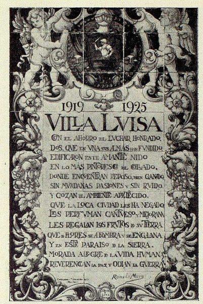 019_TRA-1926-230 - Villa Luisa, el hotel Rómulo Muro, placa