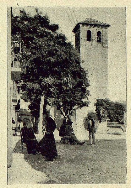 022_TRA-1930-283-284-Granada, el Albaicín, la plazuela de San Miguel-Foto Milhos