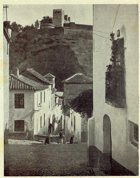 023_TRA-1930-283-284-La Alhambra desde el Albaicín-Foto Milhos