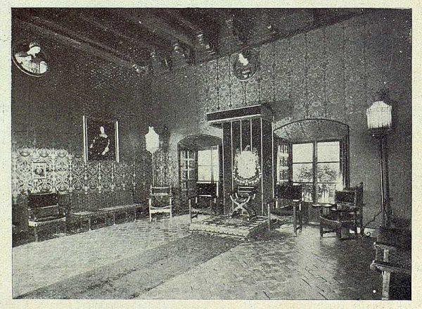 024_TRA-1930-285-286-Granada, la Casa de los Tiros, salón de Honor