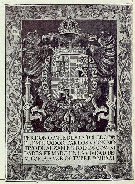 028_TRA-1922-182 - Perdón de Carlos V concedido a Toledo