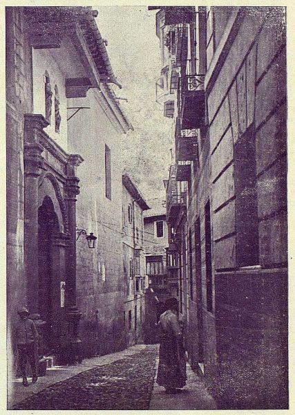 030_TRA-1924-208-Calle de Santa Justa-Foto Clavería