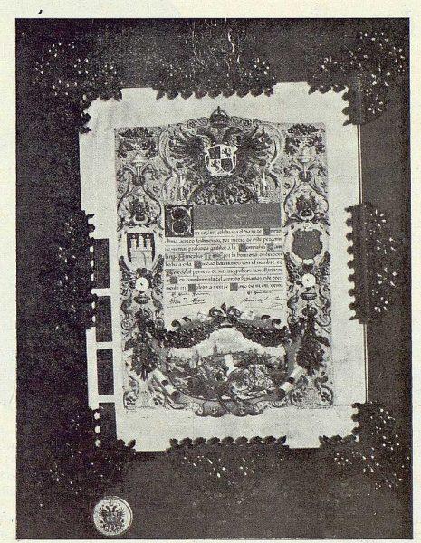 032_TRA-1923-195 - Obra de homenaje a la empresa propietaria del transatlántico Toledo - Foto Rodríguez