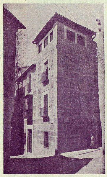 032_TRA-1924-211-Calle de la Granada esquina a la de San Ginés-Foto Rodríguez