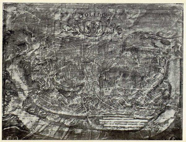 033_TRA-1924-209 - Plano de Toledo de finales del siglo XVII