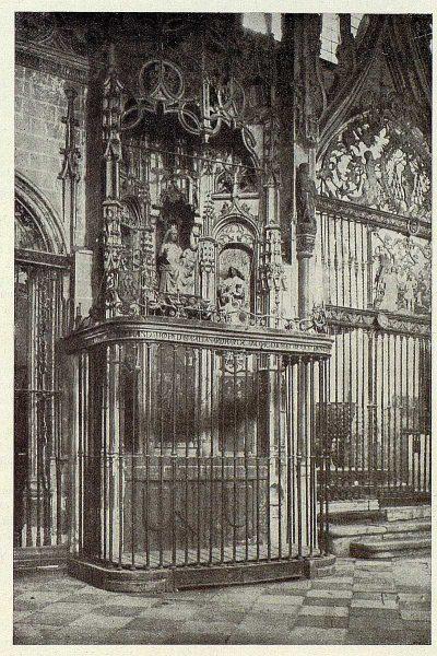 036_TRA-1927-250-Catedral, capilla de la Virgen de la Antigua-Foto Clavería