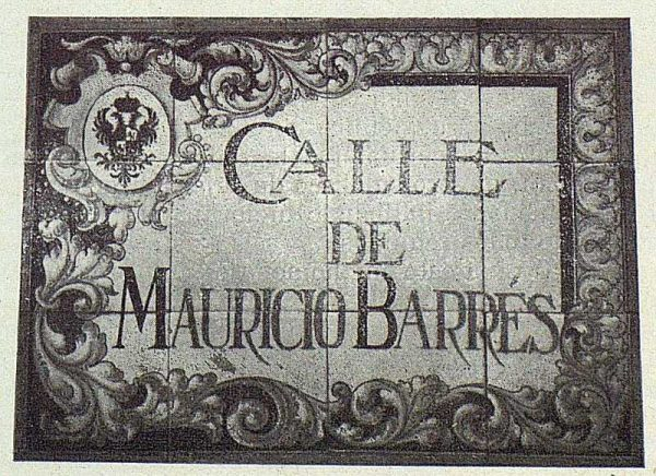 038_TRA-1924-207 - Homenaje a Barrés, lápida conmemorativa