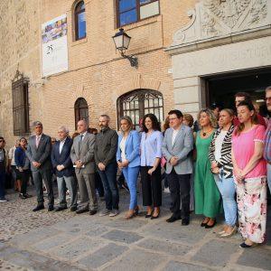l Ayuntamiento se suma a la Huelga Mundial del Clima con una concentración simbólica encabezada por la alcaldesa