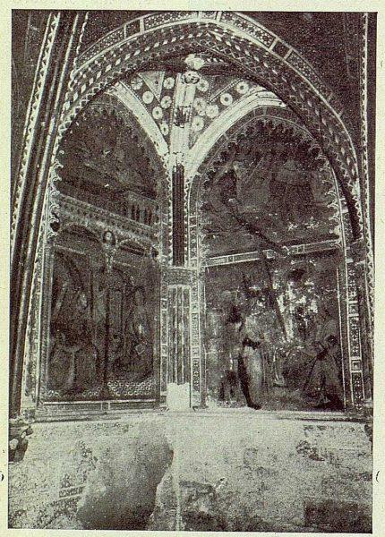 041_TRA-1924-206-Catedral, capilla de Pedro Tenorio (San Blas), detalle de las pinturas murales-01-Foto Rodríguez