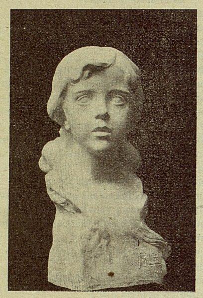 043_TRA-1917-077 - Busto de la hija del Capitán Arribas, escultor Roberto Rubio