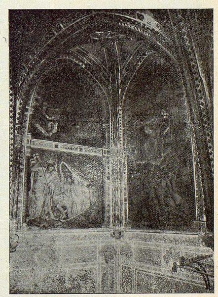 043_TRA-1924-206-Catedral, capilla de Pedro Tenorio (San Blas), detalle de las pinturas murales-02-Foto Rodríguez
