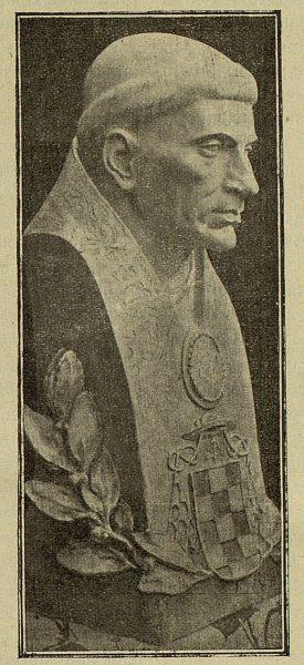 045_TRA-1917-088 - Busto del Cardenal Cisneros, obra del escultor Roberto Rubio