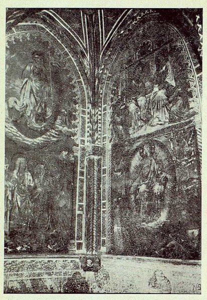 047_TRA-1924-206-Catedral, capilla de Pedro Tenorio (San Blas), pinturas murales de la capilla-01-Foto Rodríguez