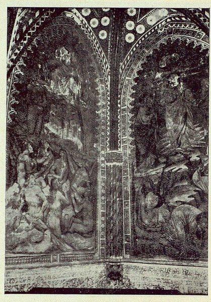 048_TRA-1924-206-Catedral, capilla de Pedro Tenorio (San Blas), pinturas murales de la capilla-02-Foto Rodríguez