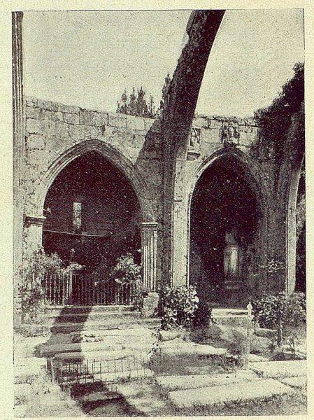 048_TRA-1930-285-286-Pontevedra, ruinas de Santa María de Camdador
