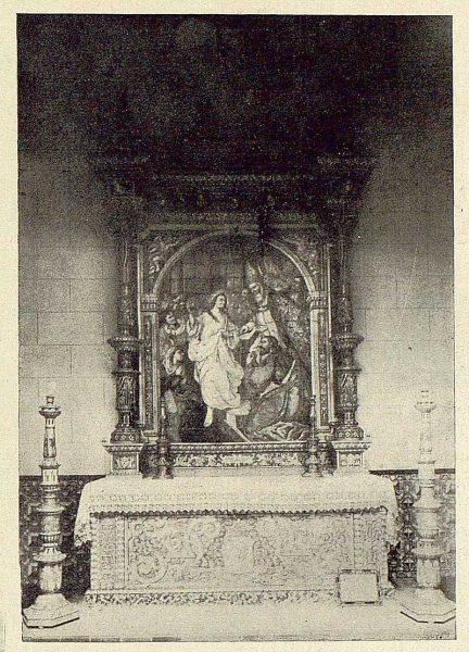 053_TRA-1929-272-Pabellón de Toledo en Sevilla, altar de cerámica de Ruiz de Luna