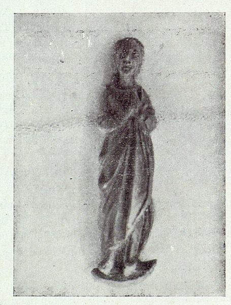 056_TRA-1922-183 - Imagen de la Purísima Concepción hallada en la Cuesta de la Granja - Foto Rodriguez