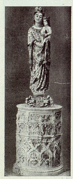 057_TRA-1922-184 - Palacio del Castañar, Imagen de Nuestra Señora de la Blanca