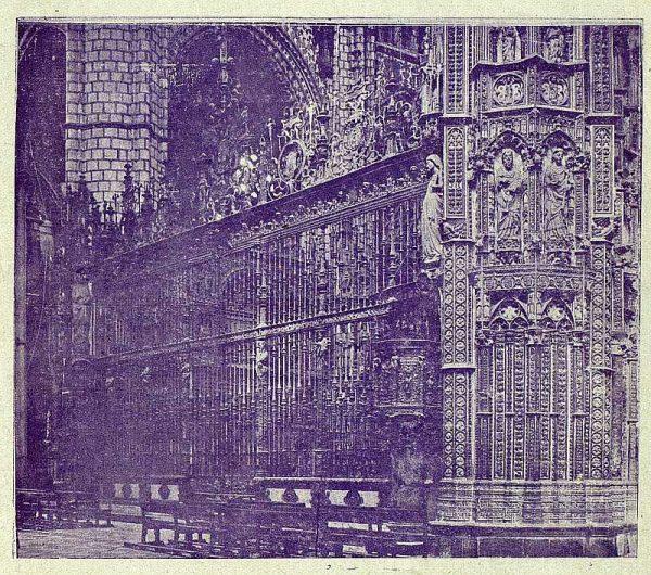 065_TRA-1919-127-Catedral, Reja de la Capilla Mayor-Foto Clavería