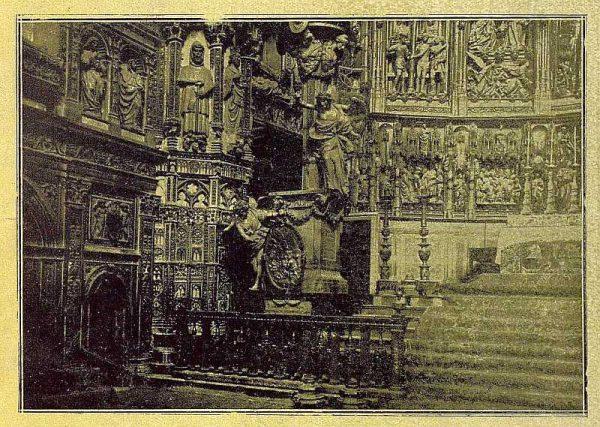 067_TRA-1921-162-Catedral, interior de la Capilla Mayor-Foto Clavería