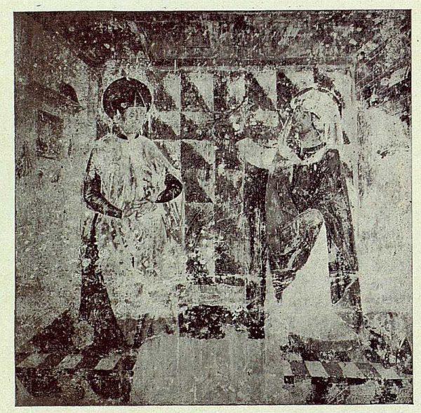 067_TRA-1922-187-Barcience, frescos de la iglesia-Foto Vegue