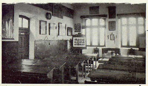 069_TRA-1922-187-Barcience, interior de las escuelas-Foto Rodríguez