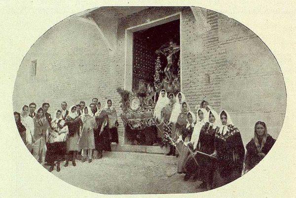 074_TRA-1929-271-Bargas, procesión-Foto Rodríguez