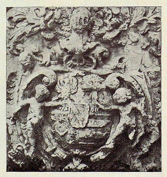 080_TRA-1926-229-El Toboso, palacio de Dulcinea, escudo de los Martínez Zarco-02