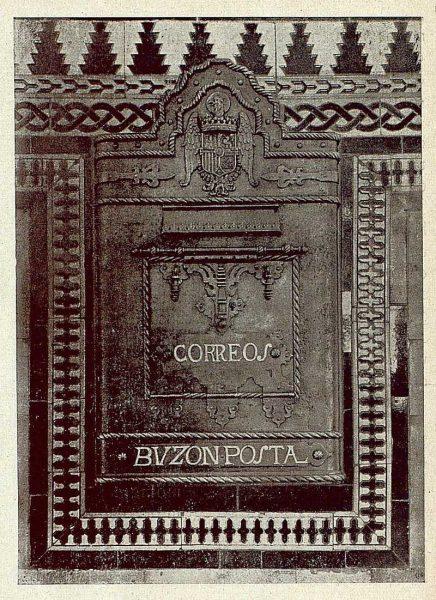 084_TRA-1921-172 - Buzón de correos repujado de Julio Pascual - Foto Clavería