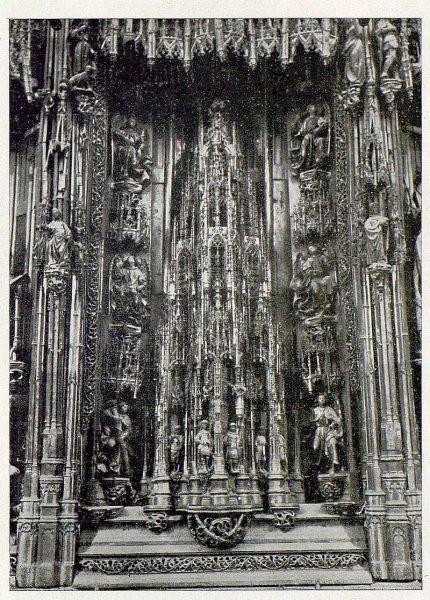 085_TRA-1930-275-Catedral, detalle del Altar Mayor
