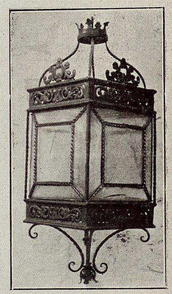 089_TRA-1921-172 - Farol de hierro forjado de Julio Pascual