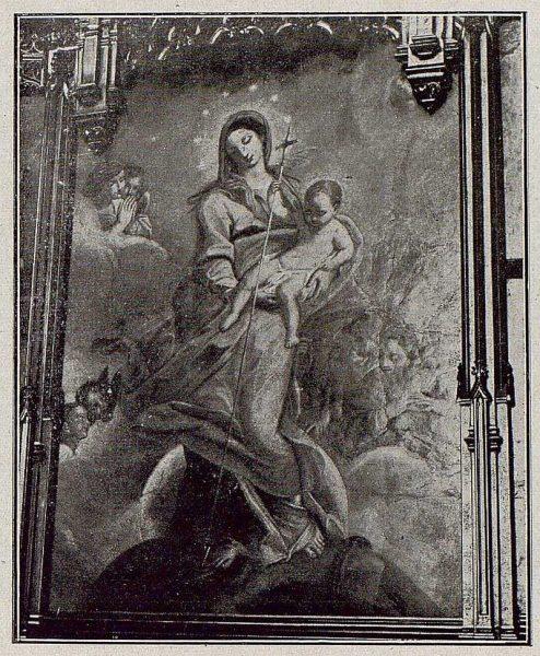 092_TRA-1921-171-Catedral, el mosaico en la Capilla Mozárabe-Foto Bermejo