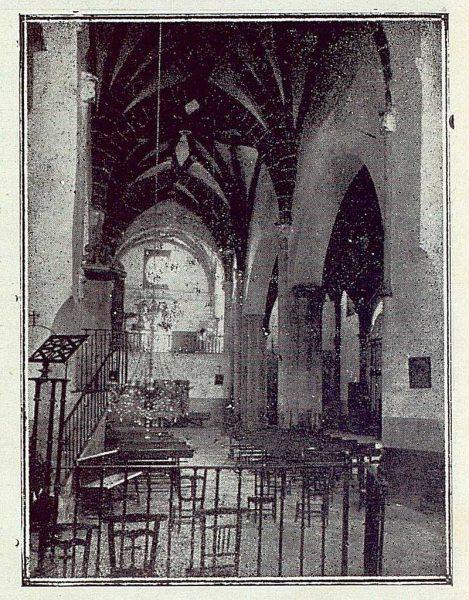 092_TRA-1923-200-Iglesia de Illescas, interior-Foto Román
