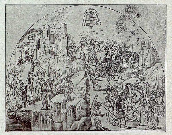 094_TRA-1921-171-Catedral, la conquista de Orán en la Capilla Mozárabe-Foto Bermejo
