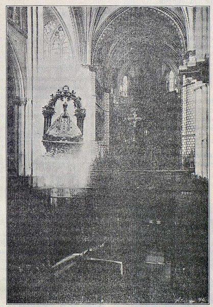 097_TRA-1916-055 - Composición fotográfica de la Virgen del Sagrario y su Templo - Foto Carnero