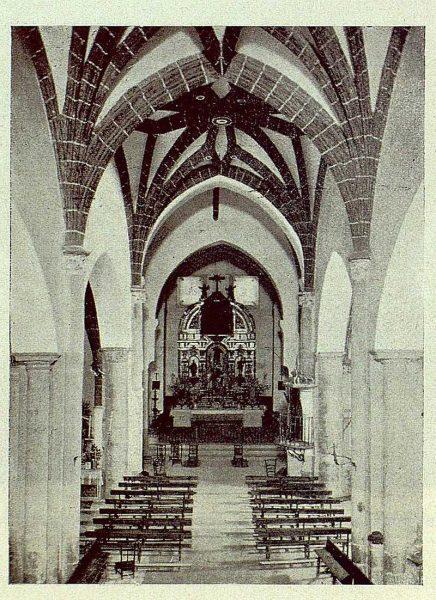 098_TRA-1929-265-Illescas, iglesia de Santa María, interior-Foto Aguilar