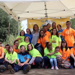 ás de 1.300 personas se suman a la Carrera y Cross Solidarios de Down Toledo que un año más cuenta con el respaldo municipal