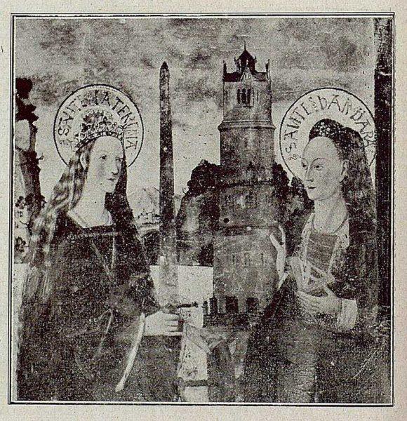 100_TRA-1921-171-Catedral, Santa Catalina y Santa Bárbara en la Capilla Mozárabe-Foto Bermejo