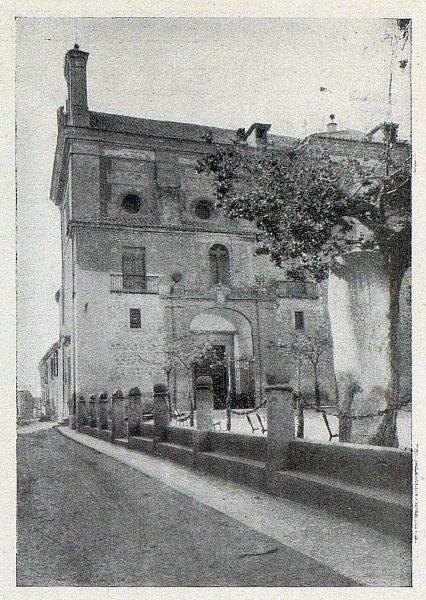 103_TRA-1929-271-Carretera de Madrid a su paso por Illescas