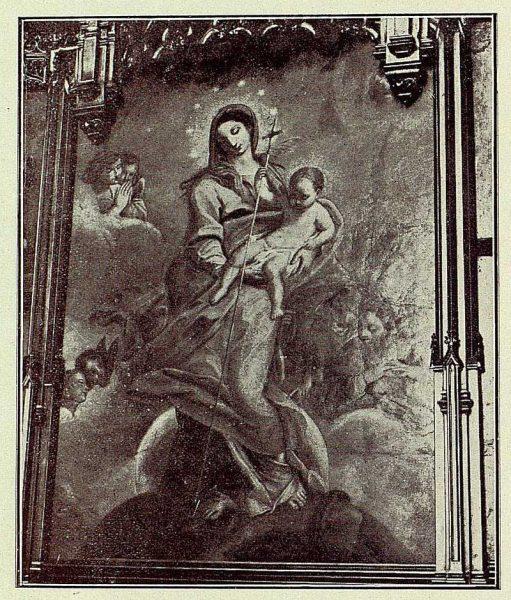 105_TRA-1926-228-Catedral, mosaico del retablo de la Capilla Mozárabe