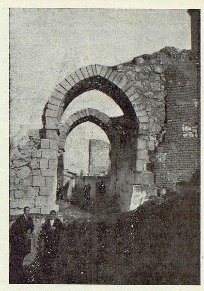 110_TRA-1923-202-Maqueda, restos del recinto fortificado-Foto Rodríguez